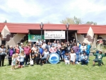 The DOE Office of Indian Energy and GRID Alternatives joined the Bishop Paiute Tribe at an Earth Day event to celebrate 56 completed residential solar installations—as well as the benefits they'll bring to the Tribe for generations to come. Photo from GRID Alternatives