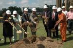 Birmingham Mayor William A. Bell, Sr., City officials, and DOE representatives at Monday's groundbreaking.
