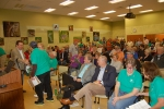 Participants in the 10-year anniversary celebration of the Fernald Site cleanup completion.