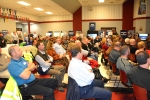The nearly 150 people in attendance filled the meeting space at Piketon High School.