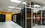Photo inside a data center.