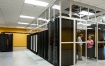 Photo inside a data center.