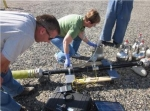 Data collection takes place during a field demonstration at the Hanford site as a case study of the analysis approach.