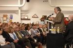 Energy Secretary Ernest Moniz talks with Hanford Site employees.