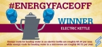 The electric kettle wins the final round of #EnergyFaceoff. | Graphic by Stacy Buchanan, National Renewable Energy Laboratory