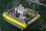 WEC-Sim Phase 1 testing at the Oregon State University Hinsdale Directional Wave Basin.