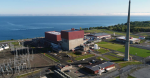 The FitzPatrick nuclear station in New York located off of the water in Oswego County.
