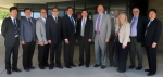 The Chinese delegation is pictured with EM officials at SRS, left to right: Liang Chen (CNNC), Zhao Zhou (CNNC), Lee Fox (SRS), Riu Su (CNNC), Ben Rivera (EM Headquarters), Liuyi Duan (CAEA), Jack Craig, (SRS), Vijay Jain (SRS), Pat Suggs (SRS), James R. Giusti (SRS), and Xuebing Song (CNNC).