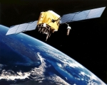Artist rendition of GPS Satellite