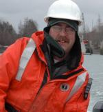 """Captain Gerald """"Gerry"""" Morrison, Vice President of Perry Marine & Consctruction.   Photo Courtesy of Ocean Renewable Power Company."""