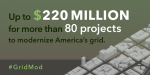 """Grid Modernization Initiative releases multi-year plan and awards funding for groundbreaking DOE-wide Grid Modernization Laboratory Consortium. 