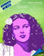 """Hedy Lamarr was a well-known actress in the 1930s and 40s, but she also invented """"frequency hopping"""" -- the basis for wireless technology today. 