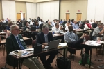 Frank Lowery, Dr. Dave Rude, and Cory Jackson participate in the annual MSIPP meeting