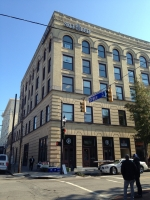 The Self-Help Office Building in Wilmington, N.C., reduced nearly $11,000 in annual energy costs and increased the building's valuation up to $275,000 after a green retrofit.  Photo courtesy of the Institute for Market Transformation.