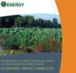 Cover of the summary document exploring OREM's economic impact.