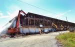 OREM began demolition of the 750,000 sq. ft. K-31 Building, marking the removal of the fourth of five gaseous diffusion buildings at the former uranium enrichment site.