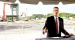 EM Acting Assistant Secretary Mark Whitney speaks during the K-31 Building demolition celebration.