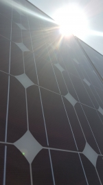 Picture of a solar power panel