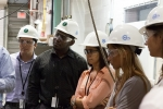 Students in the Mickey Leland Energy Fellowship tour the National Energy Technology Laboratory in Morgantown, WV.