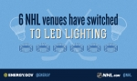 """Several National Hockey League facilities now have LED lighting, saving energy and money. 