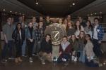 Colgate undergraduates group photo