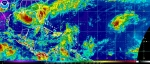 Satellite image of Tropical Storm Isaac. | Courtesy of NOAA.