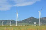 Turbines at the National Wind Technology Center in Boulder, Colorado. The 2013 Wind Technologies Market Report includes a new chapter that focuses on trends in wind turbine nameplate capacity, hub height, rotor diameter, class, and specific power. | Photo by Ben Chicoski