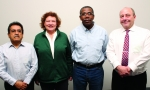 (Left to right) Ed Trujillo, Terri Likens, Leon Baker and Richard Burroughs are the newest members of the Oak Ridge Site Specific Advisory Board.