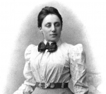 Mathematician Emmy Noether, who made great contributions to theoretical physics, is this week's Women's History Month honoree. | Photo in Public Domain.