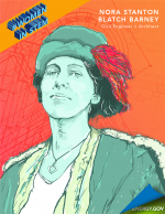 """Nora Stanton Blatch Barney was the first American woman to become a civil engineer in 1905 and granddaughter of a women's rights icon.   Graphic by <a href=""""/node/2349957"""">Cort Kreer</a>."""