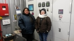Ruth Gilila and Norma Williams of Akiak Power Utilities.