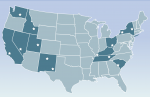 This map marks EM's sites, whose major accomplishments are detailed in a 2015 Year-in-Review.