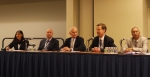 From left to right: Moderator Ramola Musante, panelists Ron Voglewede, Bill Varley, Rob Ivester, and S. Raghupathy.