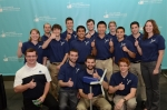 Pennsylvania State University was crowned the winner of the Energy Department's inaugural Collegiate Wind Competition. The team designed a small-scale wind turbine that can be easily deployed to provide power in emergency and/or remote power situations.