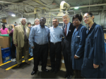 Deputy Secretary of Energy Daniel Poneman meets with owners and workers at Diversified Chemical Technologies, a small business in Detroit, MI. | Energy Department photo