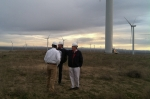 The Deputy Secretary tours Oregon's Caithness Shepherds Flat wind farm, which is able to create up to 845 megawatts of emission-free wind power (enough electricity to power nearly 260,000 homes).