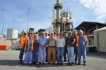 Members of the team that helped safely close the Toxic Substances Control Act Incinerator at Oak Ridge gather for a photo. The team is from URS CH2M, Oak Ridge, the prime contractor for the Oak Ridge Office of Environmental Management.