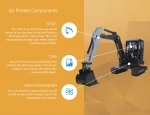 Digging In: Oak Ridge National Laboratory Creates World's First 3D Printed Excavator