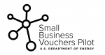 Small Business Vouchers Pilot logo.