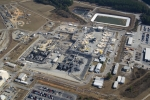 A view of the Savannah River Site, which includes underground waste tanks and facilities.