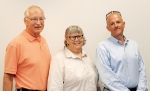 (From left to right) Dennis Wilson, Martha Deaderick, and Mike Ford joined the Oak Ridge Site Specific Advisory Board in Sept. 2015.