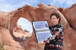 Sandra Begay-Campbell is a Principal Member of the Technical Staff at Sandia National Laboratories where she leads Sandia's technical efforts to assist Native American tribes with their renewable energy developments.