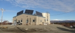 The Shugnak power plant is one of nearly 30 rural utilities the RUS team is visiting in 2015. Photo from Alaska Center for Energy and Power, NREL 33697.