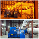 Thanks to a 2012 State Energy Program Competitive Award, three Arizona wastewater treatment facilities underwent partial energy upgrades. A facility in Phoenix, pictured here in before-and-after shots, undertook an LED retrofit. The facility is already saving energy and money.