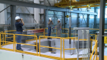 Idaho National Laboratory scientists and engineers perform a fuel inspection at the TREAT reactor facility.