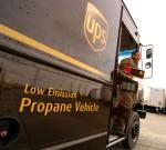UPS is one of the Energy Department's National Clean Fleets Partners. The company is reducing petroleum use and emissions through careful route planning, fuel efficiency measures and alternative fuel use. | Photo courtesy of UPS.