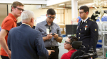 Veterans take a training at Oak Ridge National Laboratory's Manufacturing Demonstration Facility. | Photo credit: ORAU.