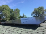 The Energy Resource Center installed a 2-kilowatt solar PV system at a WAP-eligible home in Colorado Springs.