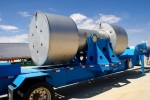 WIPP's 700th defense-related RH-TRU waste shipment was transported in an RH-72B shipping package. The shipment from the Idaho site arrived Sept. 12.