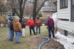 Sates across the nation celebrated Weatherization Day on October 30 with guided tours and Gubernatorial proclamations. In this photo, A team of weatherization technicians perform a site demonstration in Minnesota on Weatherization Day in 2012. | Photo courtesy of WAPTAC.